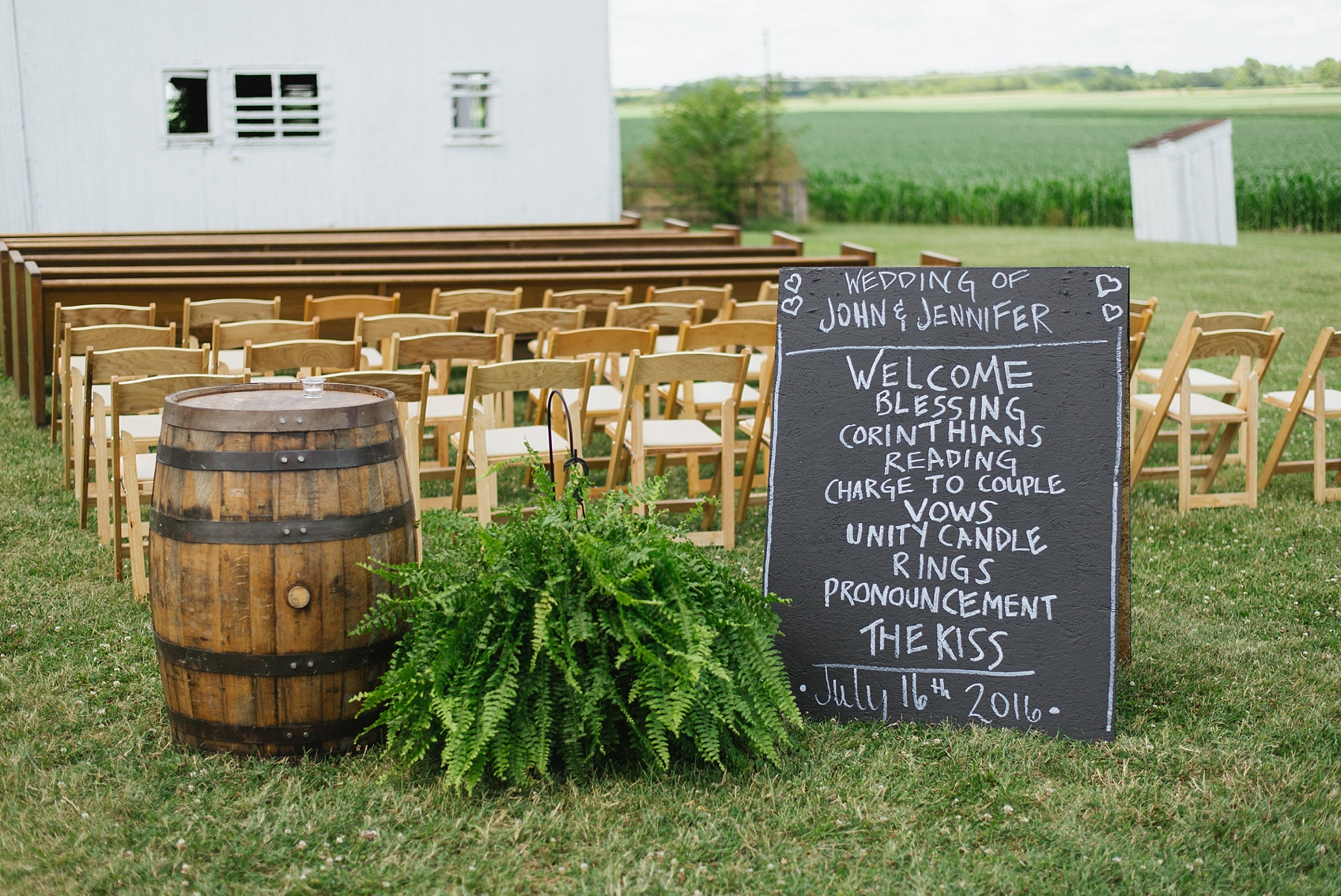 Lightning Tree Barn Wedding - Oh, the Heart